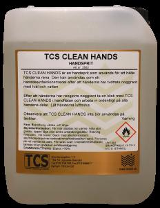 TCS Clean Hands