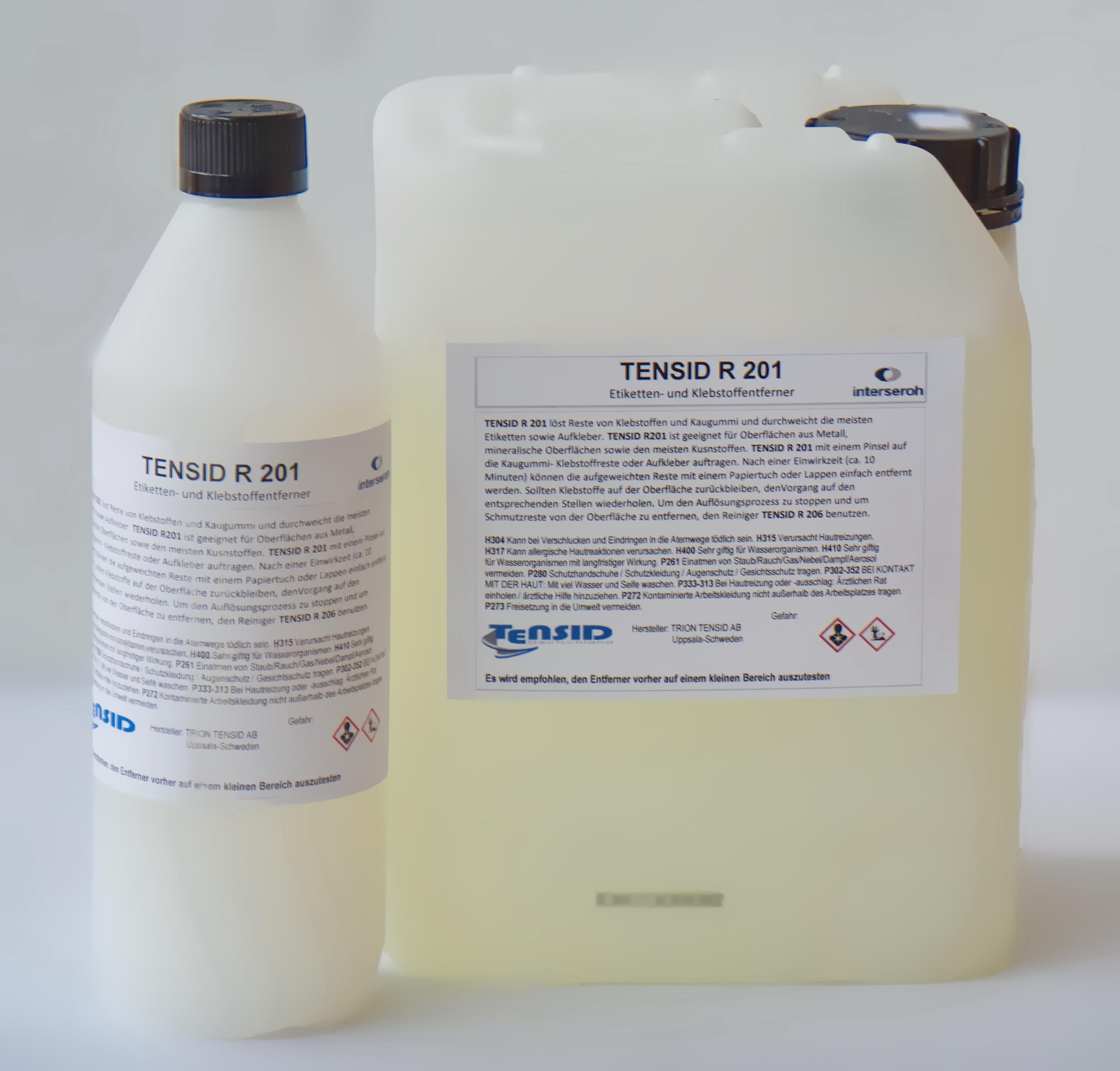 R 201  Entferner für Kaugummi 5 Liter Kanister